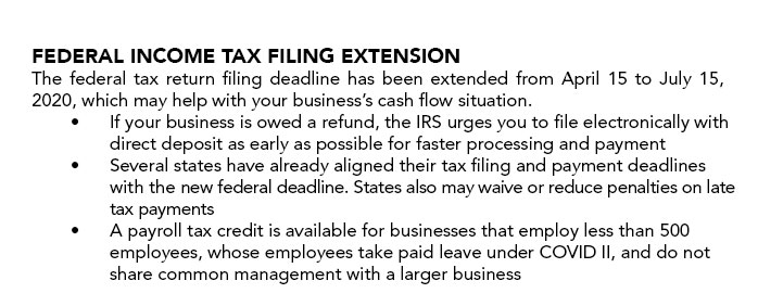 Federal income tax filing extension