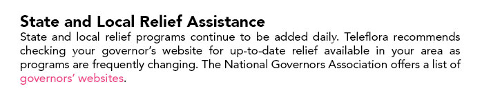 State and Local Relief Assistance